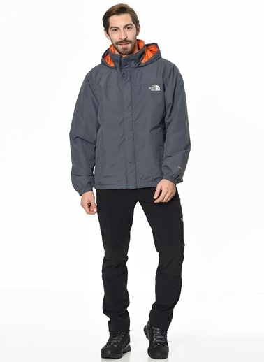 The North Face Resolve Insulated Erkek Yağmurluk Gri